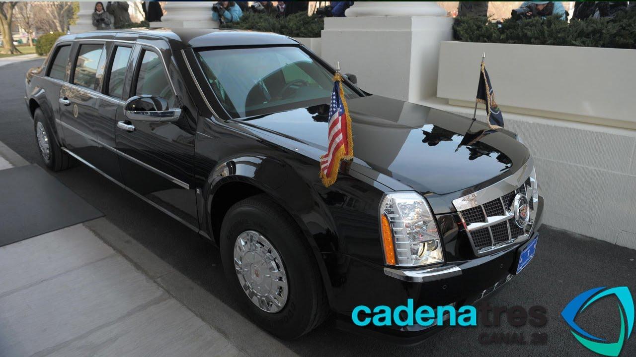 Presidential Cadillac The Beast >> La Bestia, la limusina presidencial de Barack Obama - YouTube