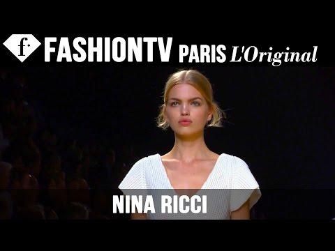 Nina Ricci Spring summer 2015 First Look   Paris Fashion Week   Fashiontv video
