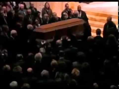 James Avery Funeral Service Memorial (Open Casket)