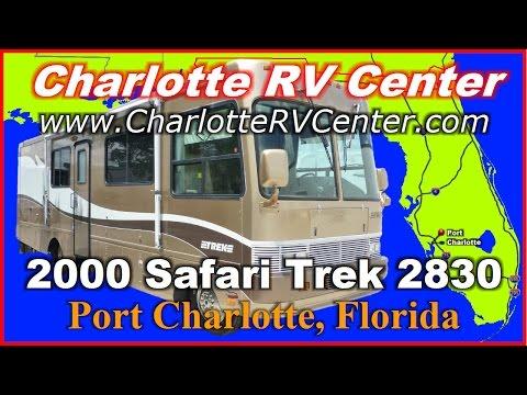2000 Safari Trek 2830 Used Class A Gas Motorhome FOR SALE; Stock# 1271