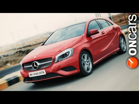 Mercedes Benz A-class - Performance Review by OnCars India