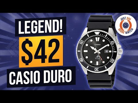 Budget Dive Classic! $42 Casio MDV-106 A.K.A. The Duro.
