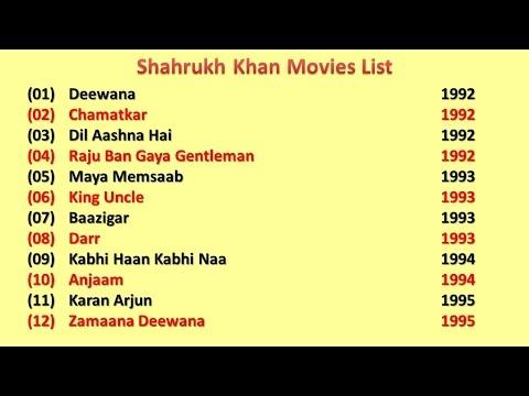 Shahrukh Khan Movies List thumbnail