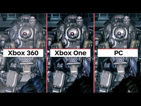 Titanfall: Complete Graphics Comparision (Xbox 360, Xbox One, PC)