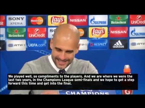 Pep Guardiola takes aim at Cristiano Ronaldo as Bayern Munich reach Champions League semi-finals