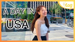 Vlog Một ngày ở Mỹ   EF Ambassador Tour   Khánh Vy official