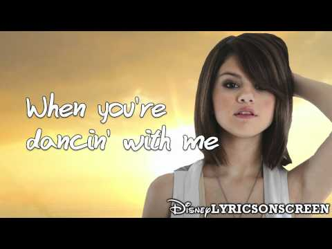 Selena Gomez & The Scene - Shake It Up (Lyrics Video) HD