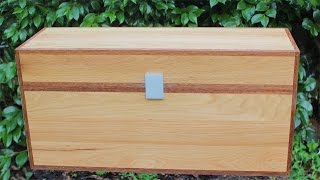 How to Make a Minecraft Double Chest in real wood - Minecraft Toys Box