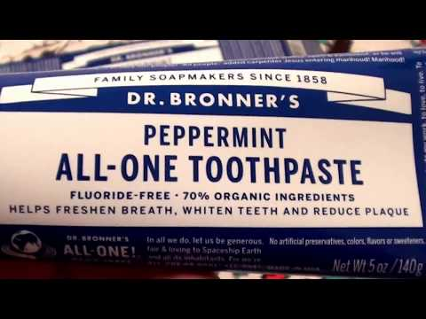 Dr. Bronner's All-One Toothpaste Peppermint - 5 oz..CRUELTY FREE