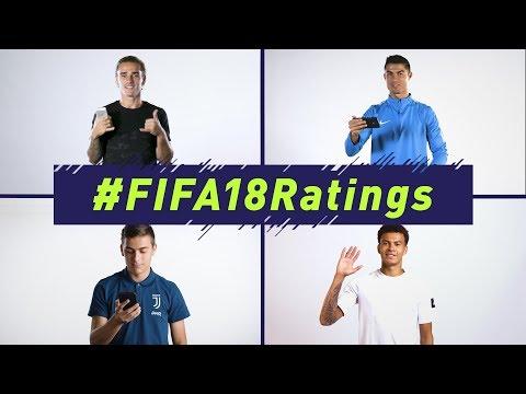 FIFA 18   Official Ratings Reveal   Ft. Ronaldo. Griezmann. Alli. Muller