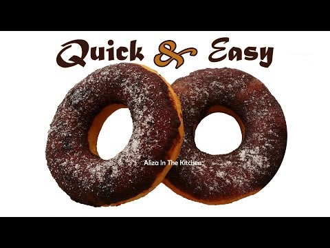 Donuts Recipe Easy - How to Make Donuts - Homemade Donuts Recipe - Aliza In The Kitchen