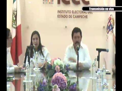Registro del Candidato del Partido Encuentro Social Prof. Roger del Carmen Ortegón García