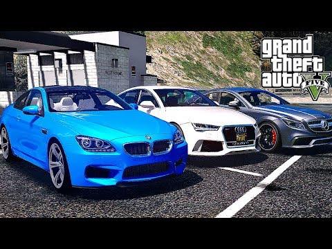 Реальная Жизнь в GTA 5 - ВЫБИРАЮ НОВУЮ МАШИНУ ЗА 100.000$ !!! BMW, AUDI ИЛИ MERCEDES ???