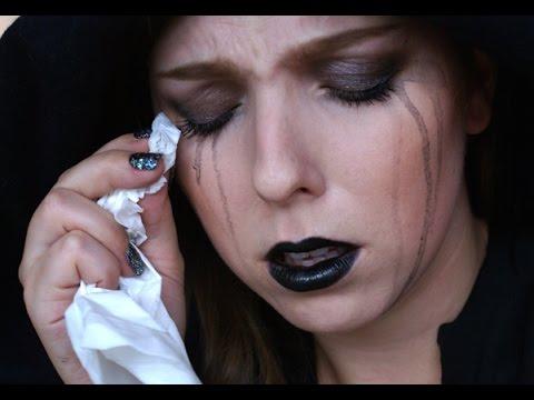 Halloween: Super-rychlá Černá Vdova Makeup Tutorial