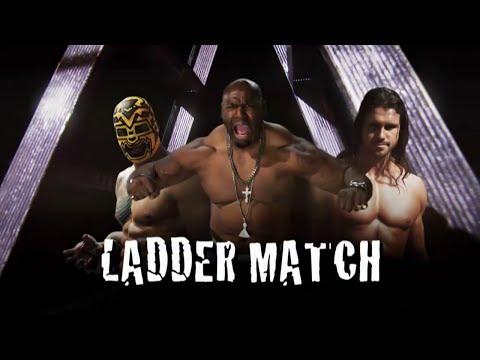 Lucha Underground 12/10/14 - TRIPLE THREAT LADDER MATCH