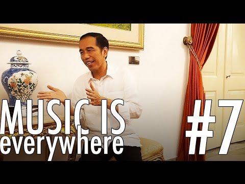 EKA COLLAB SAMA PRESIDEN JOKOWI - Music Is Everywhere #7
