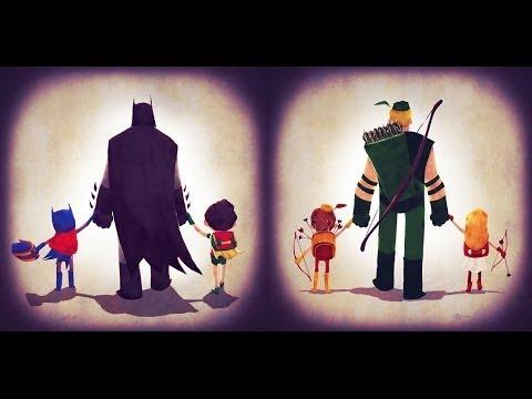Дети Супергероев DC и Marvel [by Кисимяка]