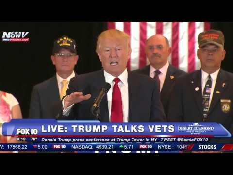 FULL PRESS CONFERENCE: Donald Trump Discusses Donations to Veterans, BLASTS Political Media