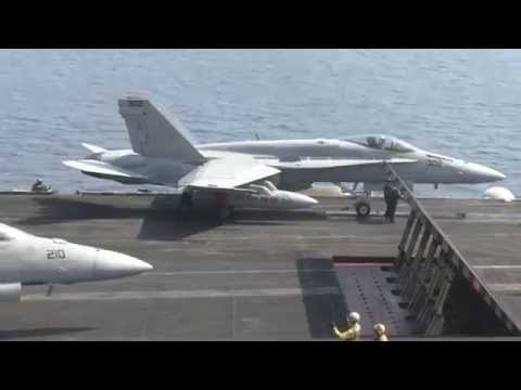 USS George H.W. Bush continues flights over Iraq to strike at ISIL
