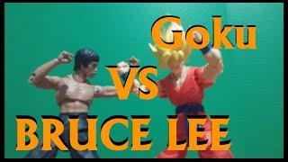 Goku vs Bruce Lee