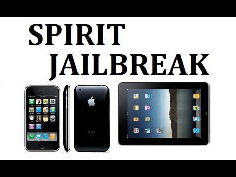 How to Jailbreak ALL iPad, iPhone & iPod Touch 3.1.2 3.1.3 & 3.2 - Spirit