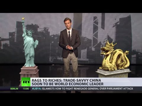 Dollar Dive: China's economy soon to leave US far behind