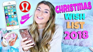 Christmas Wish List 2018 / Teen Gift Guide