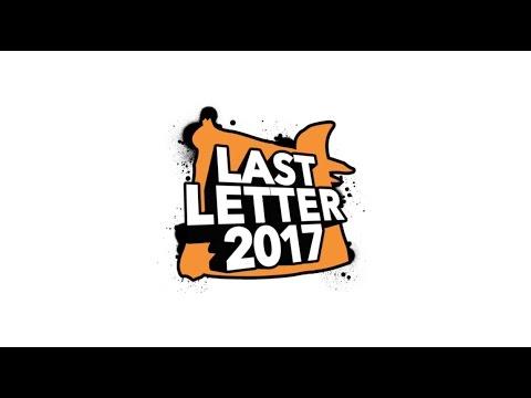 Last Letter 2017 - FINALS