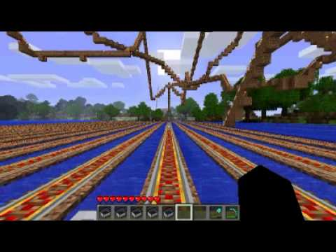 minecraft best rollercoaster ever