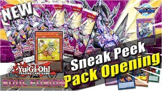 New Yu-Gi-Oh! Soul Fusion Sneak Peek Booster Pack Opening from Locals! Thunder Cards, Danger, & more