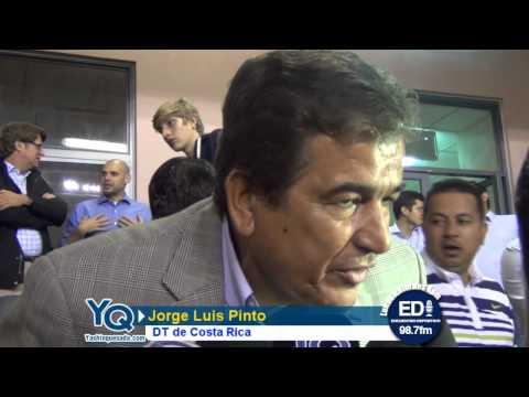Pinto defendió a Saborío y afirmó que el jugador esta herido