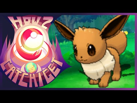 How & Where to catch/get - Eevee in Pokemon Omega Ruby & Alpha Sapphire