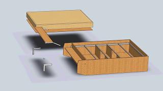 Как сделать кровать стол трансформер своими руками 92