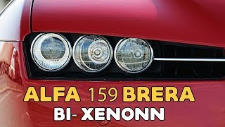 Alfa 159 Brera direct replacement by Bosch E46 bi xenon projector