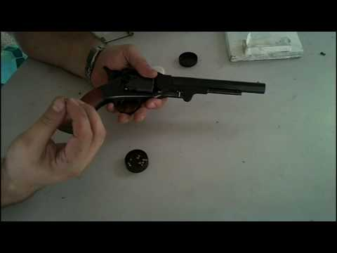 Loading my Roger and Spencer cap & ball  revolver
