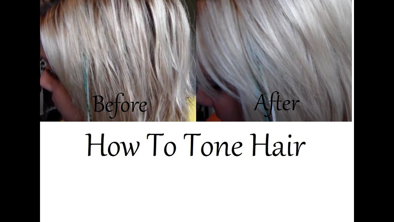How To Tone Hair Tips Which Toner To Use Amp Maintaining