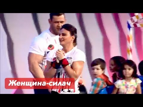 Армянка потрясла зрителей своей силой | Лейла Амирбекян