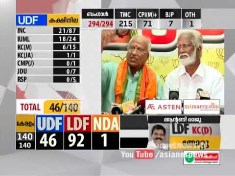 O Rajagopal Responds on his victory |BJP Open an Account in Kerala #keralapolls2016