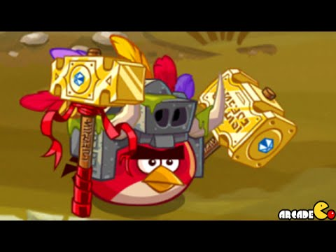 Angry Birds Epic - Unlocked New Stone Guard New Cave Stormy Sea 3! Ios android video