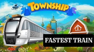 FASTEST TRAINS IN TOWNSHIP !!!!