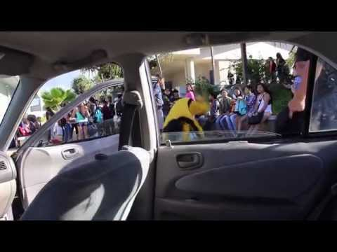 Moanalua High School First Day of School 2014