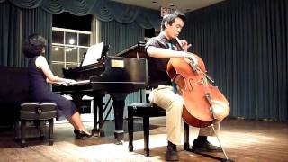 聖桑 Saint-Saëns Cello Concerto No.1 in A Minor, Op.33 (part 1)
