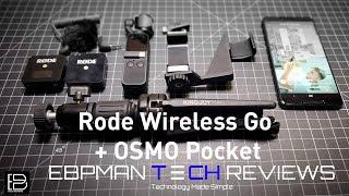 New Rode Wireless Go on The DJI Osmo Pocket