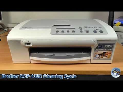 Brother DCP-135C: How to do a Cleaning Cycle