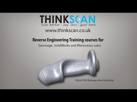 Reverse engineering training courses | Geomagic Sample