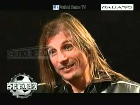CLAUDIO CANIGGIA revive Italia 90´ parte 02 FUTBOL RETRO TV