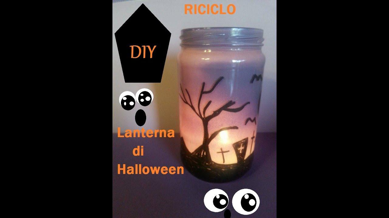 Lanterna di halloween fai da te riciclo barattoli youtube - Mobiletto fai da te ...