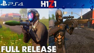 H1Z1 PS4 FULL RELEASE - NEW GUNS, BATTLE PASS AND VEHICLE