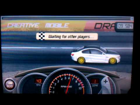 Drag racing level 4 BMW m3 9.582 with tuning!!