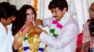 AJITH SHALINI MARRIAGE ALBUM